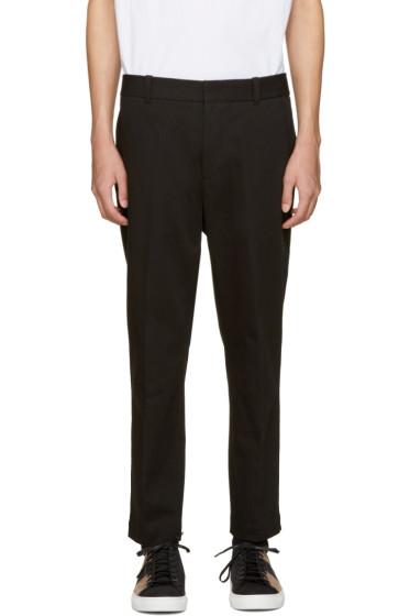 3.1 Phillip Lim - Black Saddle Trousers