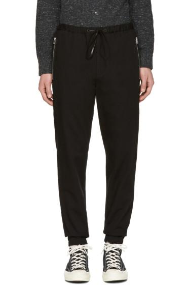 3.1 Phillip Lim - Black Twill Track Trousers