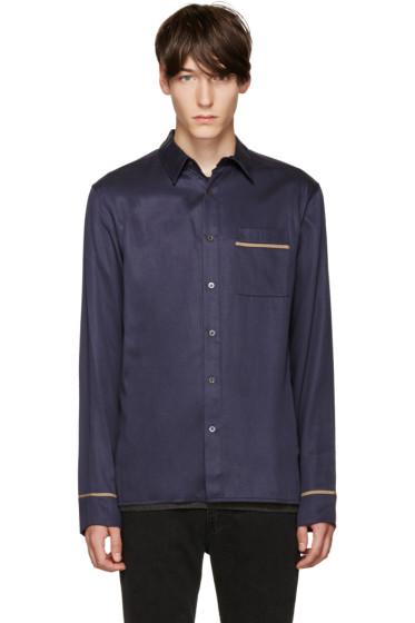 3.1 Phillip Lim - Navy Pyjama Shirt