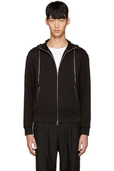 3.1 Phillip Lim - SSENSE Exclusive Black Embroidered Hoodie
