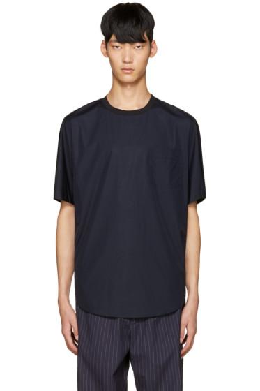 3.1 Phillip Lim - Blue Poplin T-Shirt