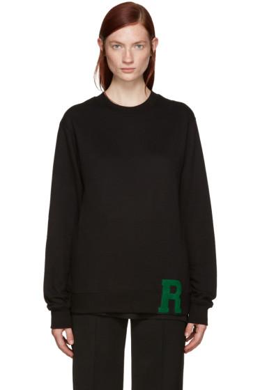 Raf Simons - Black 'R' Sweater