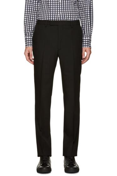 Raf Simons - Black Wool Trousers