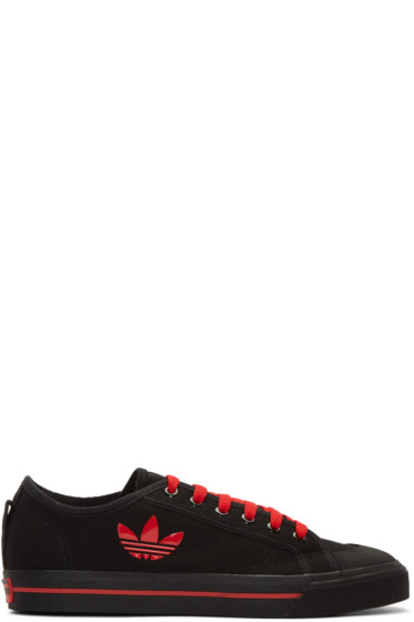 Raf Simons - Black adidas Edition Matrix Spirit Low Sneakers