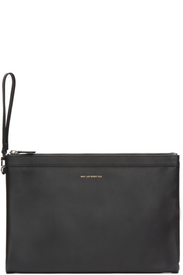 Want Les Essentiels - Black Barajas Document Holder