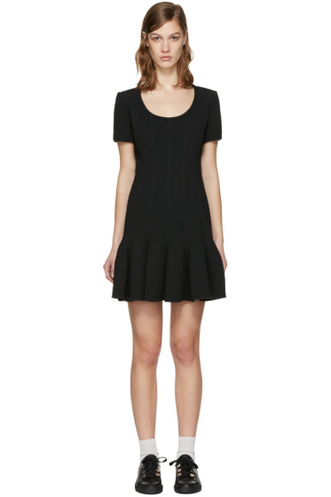 Carven - Black Flared Dress