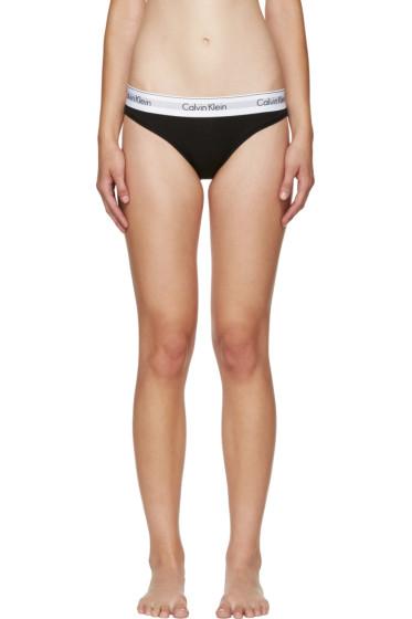 Calvin Klein Underwear - Black Modern Briefs