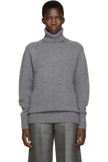 Chloé - Grey Cashmere Turtleneck