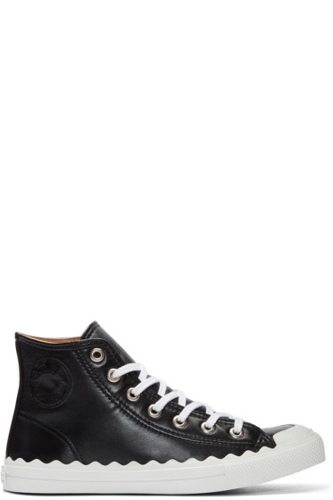 Chloé - Black Kyle High-Top Sneakers