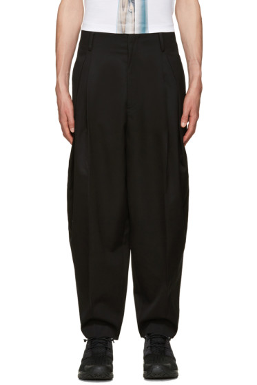 Juun.J - Black Balloon Trousers