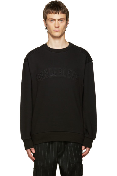 Juun.J - Black 'Genderless' Sweatshirt