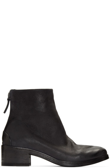 Marsèll - Black Leather Listo Boots
