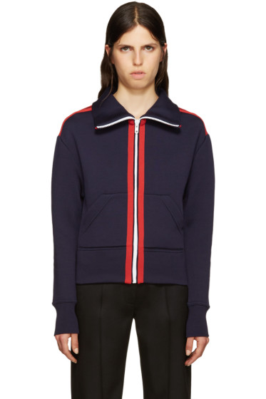 Burberry - Navy Sport Stripe Sweater