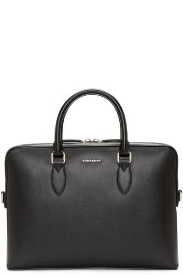 Burberry - Black The Barrow Briefcase