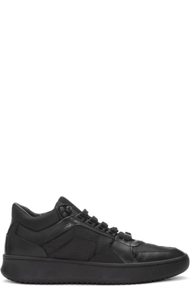 Burberry - Black Trail Sneakers