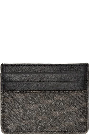 Pierre Hardy - Black Perspective Cube Card Holder