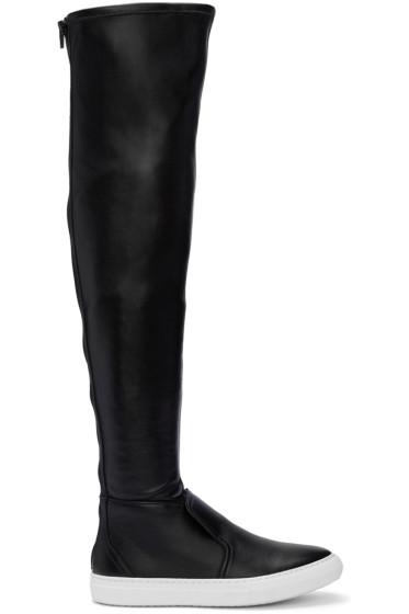 Pierre Hardy - Black Fetish Skate Boots