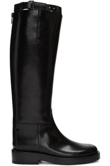 Ann Demeulemeester - Black Lucido Tall Boots