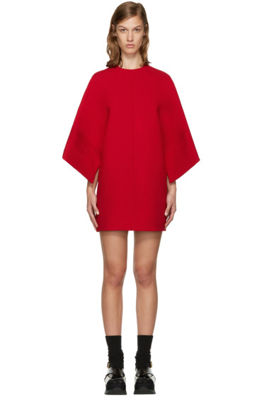Marni - Red Wool Dress