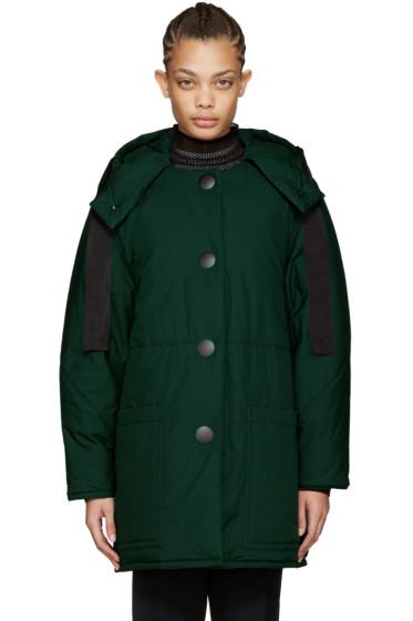 Marni - Green Down Coat