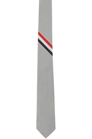 Thom Browne - Grey Classic Tie