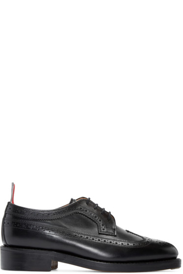 Thom Browne - Black Leather Brogues