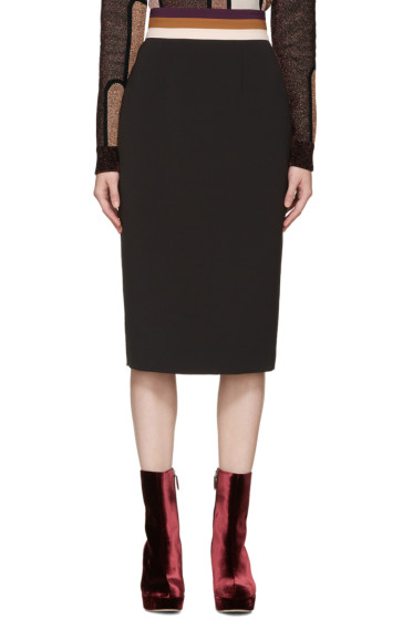 Roksanda - Black Congleton Skirt