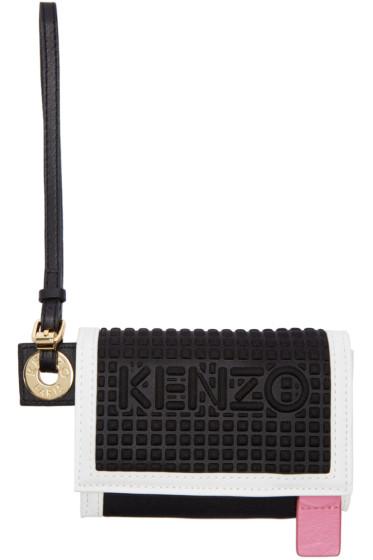 Kenzo - Black Kombo Wallet