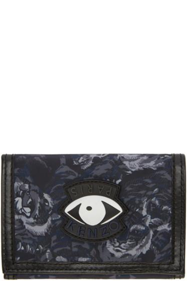 Kenzo - Navy Signature Prints Wallet