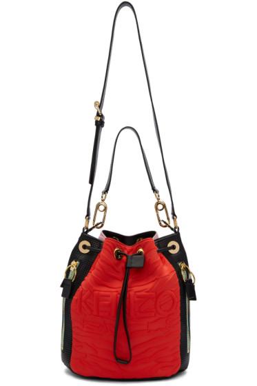 Kenzo - Red Kombo Bucket Bag