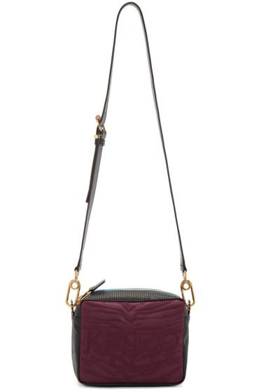 Kenzo - Burgundy Kombo Camera Bag