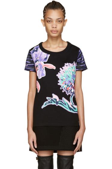Kenzo - Black Dandelion T-Shirt