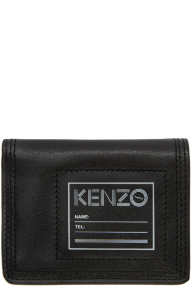 Kenzo - Black ID Card Holder