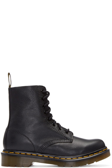Dr. Martens - Black Eight-Eye Pascal Boots