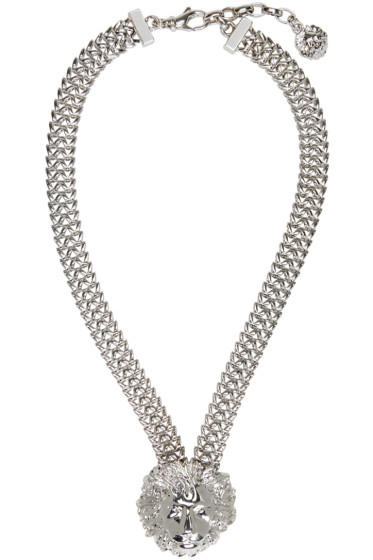 Versus - Silver Lion Necklace