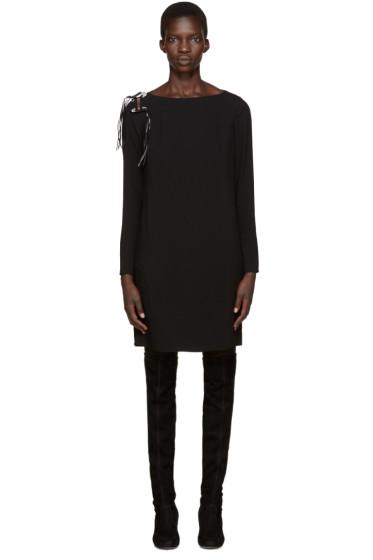 Versus - Black Safety Pin Dress