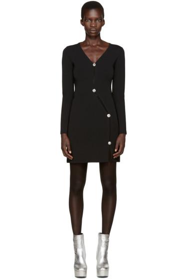 Versus - Black Asymmetric Dress