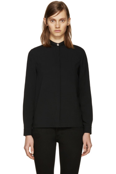 Versus - Black Lion Head Blouse