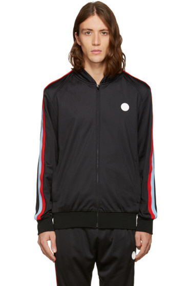 MSGM - Black Track Zip Jacket