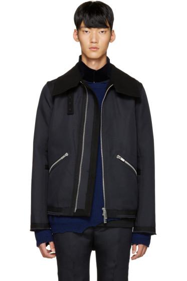 Sacai - Navy & Black Jacket