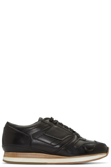 Sacai - Black Hender Scheme Edition Leather Sneakers