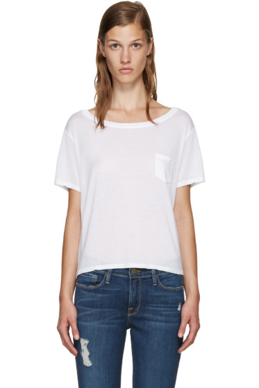 Frame Denim - White Le Boxy T-Shirt