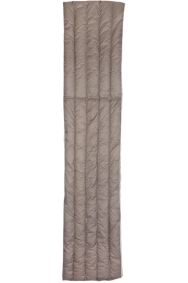 Nanamica - Grey Quilted Down Scarf