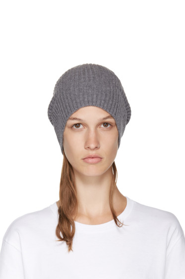 Stella McCartney - Grey Wool Beanie