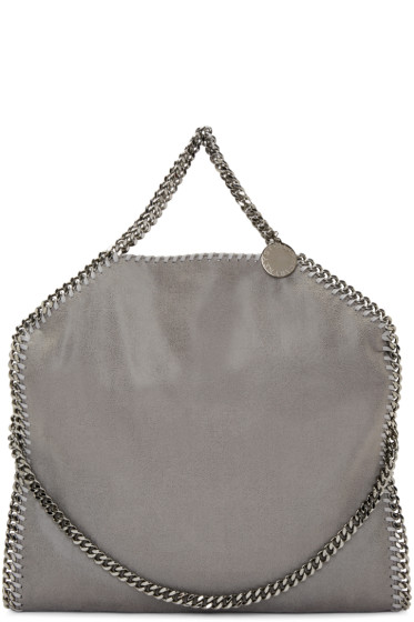 Stella McCartney - Grey Falabella Shaggy Deer Small Tote