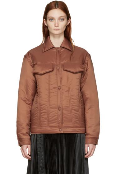 Stella McCartney - Brown Nylon Moony Jacket