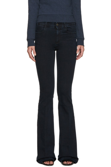 Stella McCartney - Navy Flared The 70's Jeans