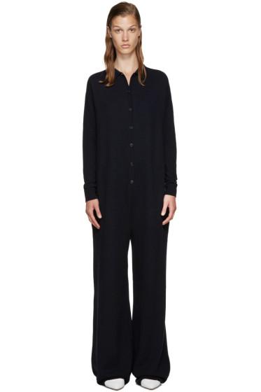 Stella McCartney - Navy Wool Jumpsuit