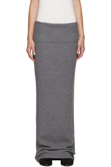 Stella McCartney - Grey Wool Skirt