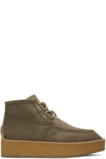 Stella McCartney - Taupe Tlingit Boots